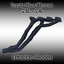 Toyota HiLux 2WD, 4WD, 4Runner, 2.4L 2.8L 4cyl Diesel Headers/Extractors