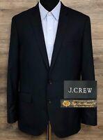 J CREW Ludlow Men Loro Piana Super120 Wool Navy Blue Blazer SportCoat Jacket 40R