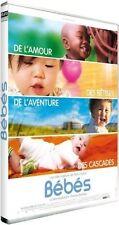 DVD *** BEBES  *** Documentaire de 4 bébés de pays différents ( neuf emballé )