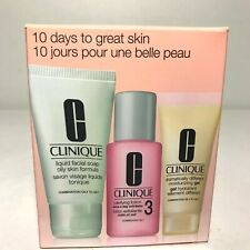 CLINIQUE Minis Dramatically Moisturizing Gel, Oily Facial Soap Clarifying Lotion