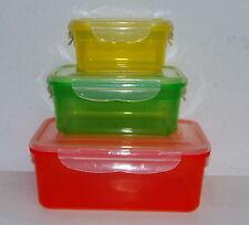 maxxcuisine Klick it Frischhaltedosen 6- teilig Vorratsdosen Kunststoffdosen NEU