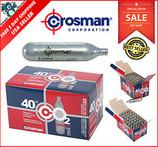 Crosman 12 Gram CO2 Cartridges Gun Gas Pellet Airsoft BB Pellet 40 Pack