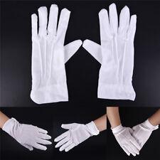 1pair White Formal Gloves White Honor Guard Parade Santa Women Men Inspection HL