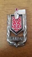 1973-1977 Monte Carlo Sail Panel Shield Landau Emblem Stick On 73 77
