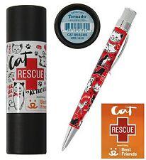 Retro 51 #VRR-1612 / Cat Rescue Twist Action Ball Point Tornado Pen