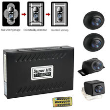 360 Degree Car DVR Bird View Panoramic Parking Assistant System Kit W/ 4 Cameras
