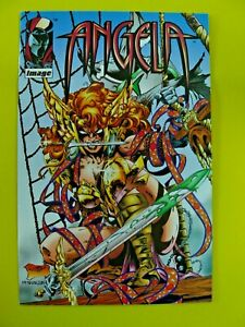 Angela Special - Angela Pirate Cover - 1st Appearance Cut Throat - NM- - Image
