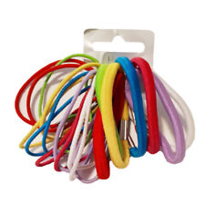 New Ladies Elastic Multicolor Twenty Piece Hair Tie Headband Set