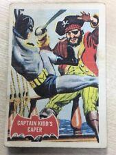 BATMAN Red Bat Cards A + B C Gum 1966 No 32A