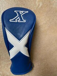 Asbri Scotland Luxury Leatherette Headcover - Hybrid/Rescue Wood Cover