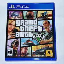 Replacement Case( NO GAME) GRAND THEFT AUTO V GTA 5 PLAYSTATION 4 PS4