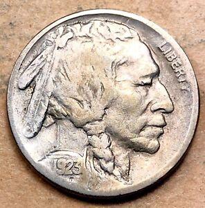 1923-S Buffalo Nickel  VF Very Fine