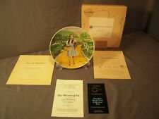 """New ListingKnowles Collector's Plate Wizard of Oz Dorothy """"Over The Rainbow"""" 1977"""