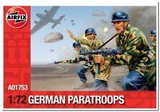 "Soldats 1/72 "" Allemand WWII Parachutistes "" - Airfix (1753"