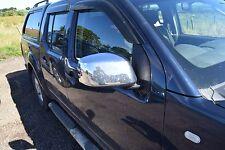 NISSAN Navara D40 Driver OFF LATO DESTRO CROMATO ELETTRICO ALA SPECCHIO
