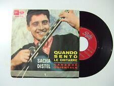 "Sacha Distel – Quando Sento Le Chitarre - Disco Vinile 45 Giri 7"" ITALIA 1965"