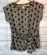 BANANA REPUBLIC Women's Blouse Size XS Shirt Career Semi Sheer Top