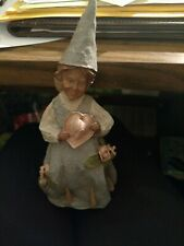 """Vintage 1987 Tom Clark Woman Lady w/ Heart Gnome """"Dee Lovely"""" Used"""