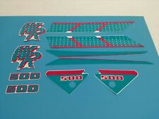 YAMAHA WR500 1992 DECAL GRAPHIC SET(#Y49)