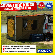 Awning Tents Suit 2X3m 4X4 4wd Kings Beach Extension Sunshade Canopy Waterproof