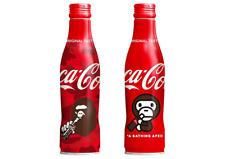 """""""Coca-Cola"""" slim bottle A BATHING APE® design Set of 2 Limited JAPAN"""