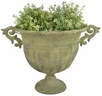 Pokal Amphore Blumentopf Blumenkübel Pflanzkübel Gemme Portrait CA66-a
