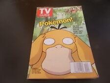 Pokemon, Jesse L. Martin - TV Guide Magazine 1999