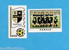 PANINI CALCIATORI 1979/80-Figurina n.502- CASALE -SCUDETTO+SQUADRA-Rec