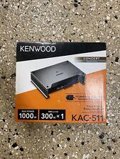 Kenwood Kac-511 Mono Amplifier