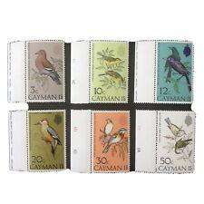 CAYMAN ISLANDS, SCOTT # 322-327(6), COMPLETE SET 1974 BIRDS ISSUE MVLH