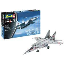 REVELL MiG-25 RBT 1:72 Aircraft Model Kit 03878