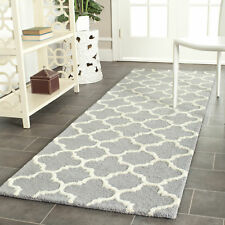 Safavieh Cambridge SILVER / IVORY Wool Runner 2'-6 x 8' - CAM130D-28