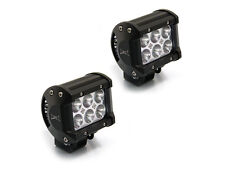 Super Bright 18w CREE LED Spotlights for Motorcycle Quad Trike Car Pick Up 4x4