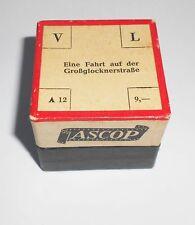Alter Rollfilm Diafilm Eine Fahrt auf der Großglocknerstraße Ascop !
