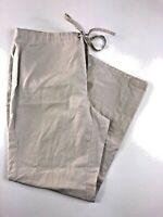 Banana Republic Beige Casual Cotton Drawstring Women's Pants Size 2