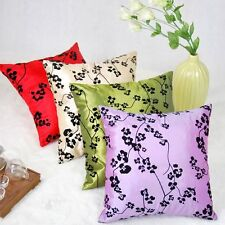"18"" New Flower Design Sofa Pillow Case"
