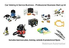Mobile Valeting Business + Extras - All equipment, bus. plan, 12 months support