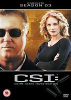 Csi Vegas Temporada 3 DVD Nuevo DVD (MP1040D)