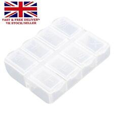 Week & A Day Pill Box Organiser Tablet Medicine Holder Storage Dispenser 7 8 Day