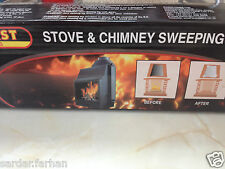 FIRE PLACE STOVE CHIMNEY SWEEPING LOG CHIMNEY FIRE PLACE STOVE CLEANER