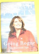 Going Rogue - An American Life 2009 Sarah Palin Biography Great Pictures See!