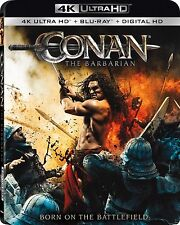 CONAN THE BARBARIAN (4K ULTRA HD) - Blu Ray -  Region free