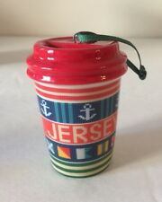Starbucks Ornament New Jersey 2017 Holiday Collection Exclusive NEW