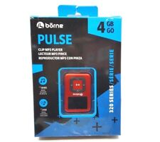 Borne Pulse 4GB MP3 Player (MP320-4RD) - Red™