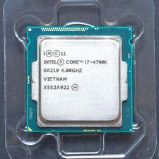 1.5 Year Warr Intel Core i7-4790K SR219 4.00GHz Débloqué PC CPU i74790K LGA1150