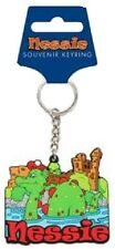 Nessie Keyring Scotland Souvenir Gift Loch Ness Monster Scottish Novelty Rubber