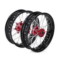 Supermoto Complete Wheel Rim For Honda CR CRF125 250 450 Front Rear 17*3.5 4.25
