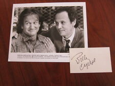 ROBIN WILLIAMS Billy Crystal   8x10 photo  AUTOGRAPHED