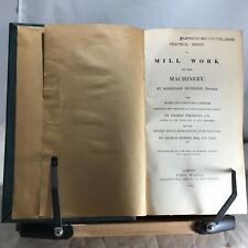 1841 Bucanan's Practical Essays on Mill Work and Other Machinery - Illustrated