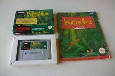Jeu Super Nintendo SNES Secret of Mana + Guide